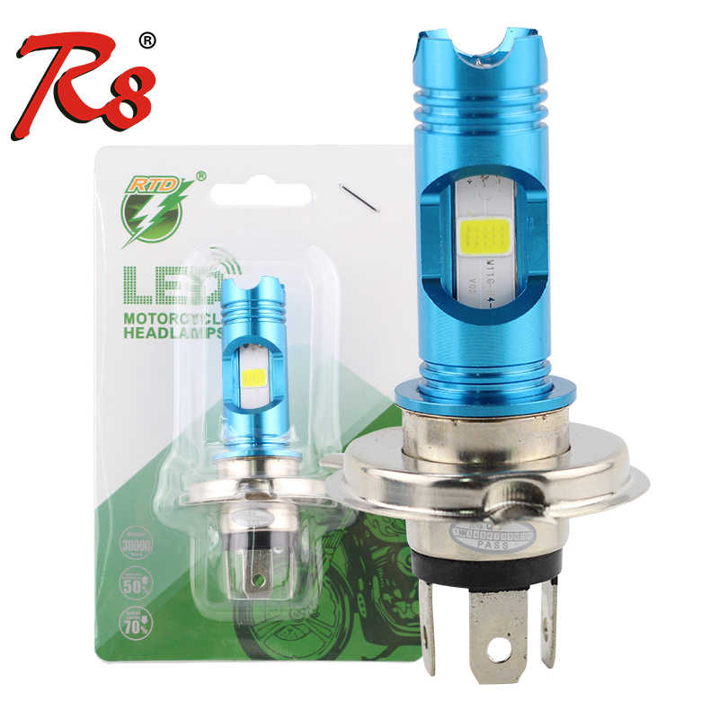 Popular RTD M11G H4 H7 P15D H6 Wireless Motorcycle Head Lamp DRL LED Bulb 1200LM 8W DC 12V Light For Moped Scooter Motorbike ATV