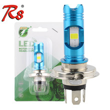 Popular RTD M11G H4 H7 P15D H6 Wireless Motorcycle Head Lamp DRL LED Bulb 1200LM 8W DC 12V Light For Moped Scooter Motorbike ATV(China)