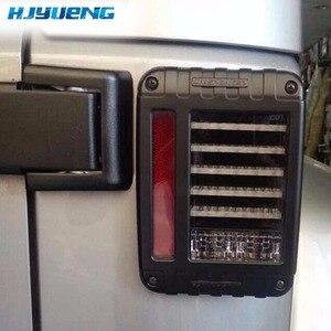 Image 2 - Tail Lights Kit Turn Signal Taillight Daytime Running Lights For Jeep Wrangler JK 07 17 LED Brake Reverse Stop Parking Backup