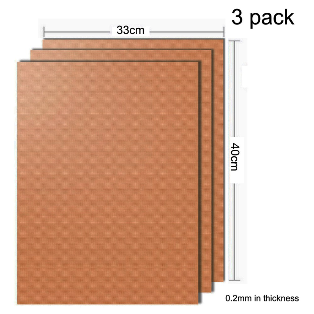 Copper Grill Mat Set of 3 Non-stick BBQ & Baking Mats Reusable Easy to Clean - grill mat serve kitchen Outdoor