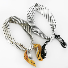 New Spring Autumn classic fashion decoration scarf popular small squares scarves in Europe and America
