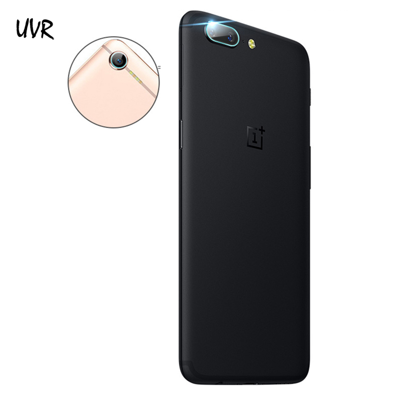 UVR 2PCS For Oneplus 5 5T One Plus 5 5T 3T 3 Camera Lens Tempered Glass Screen Protector Film 2.5D Full Cover Soft Film