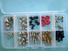 цена на 95Pcs Desktop Computer Chassis Screw PC Motherboard Screws washer with box