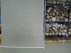 Image 5 - Traslucido Sole Avvolgibili Schermo in nero 35% Poliestere 65% PVC Tenda di Finestra per la Cucina Balcone