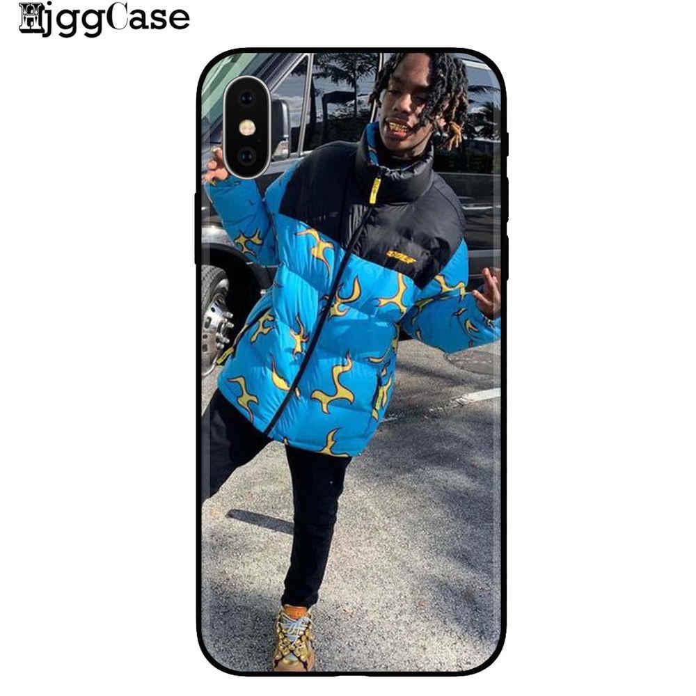 Youngboy Ynw Melly Scarlxrd Rap Hip Hop la impresión de música suave de la caja del teléfono de silicona para iphone XS Max XR X 5 5S SE 6 6s 7 7Plus 8 8plus