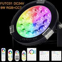 Mi. Light 9 W IP65 Waterdichte RGB + CCT Tuin Licht DC24V Input FUTC01 Outdoor Verlichting & 2.4G draadloze Afstandsbediening & WiFi Controller