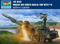 Труба 01035 1:35 русский 4K51 frontline наземных анти корабль ракетные сборка модели строительных Наборы игрушка