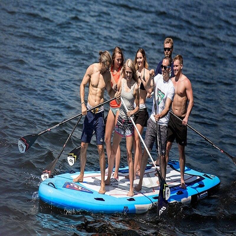 Planche de surf gonflable Standard Up planche de surf SUP planche de surf comprend pagaie + pompe à main + sac