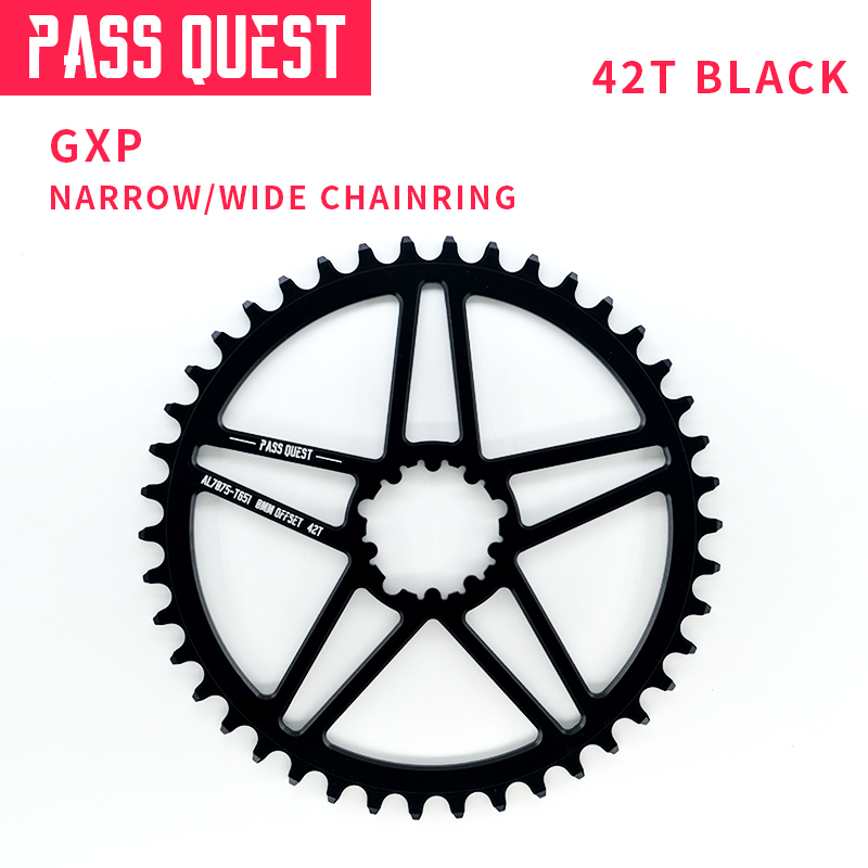 Pass quest Bike part Bicycle Crankset Chainring 0mm offset for GXP xx1 Eagle GX X01 X0
