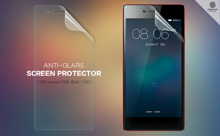 2 pcs/lot screen protector for Lenovo VIs