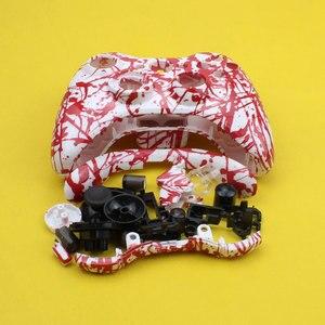 Image 4 - Cltgxdd Kablosuz Oyun Denetleyicisi sert çanta Gamepad Koruyucu Kabuk Kapak Ile Tam Set Düğme Analog Sopa Tamponlar XBox 360