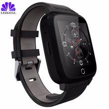 2017 Bluetooth Relógio Inteligente U11S U11S MTK6580 Quad Core Android Monitor De Freqüência Cardíaca 5.1 Smartwatch com Câmera