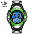 SMAEL 50M Waterproof LED Digital Watches Shock Resistant Children Sports Watch Date Baby Boys Writswatches Kids Clock WS0616b