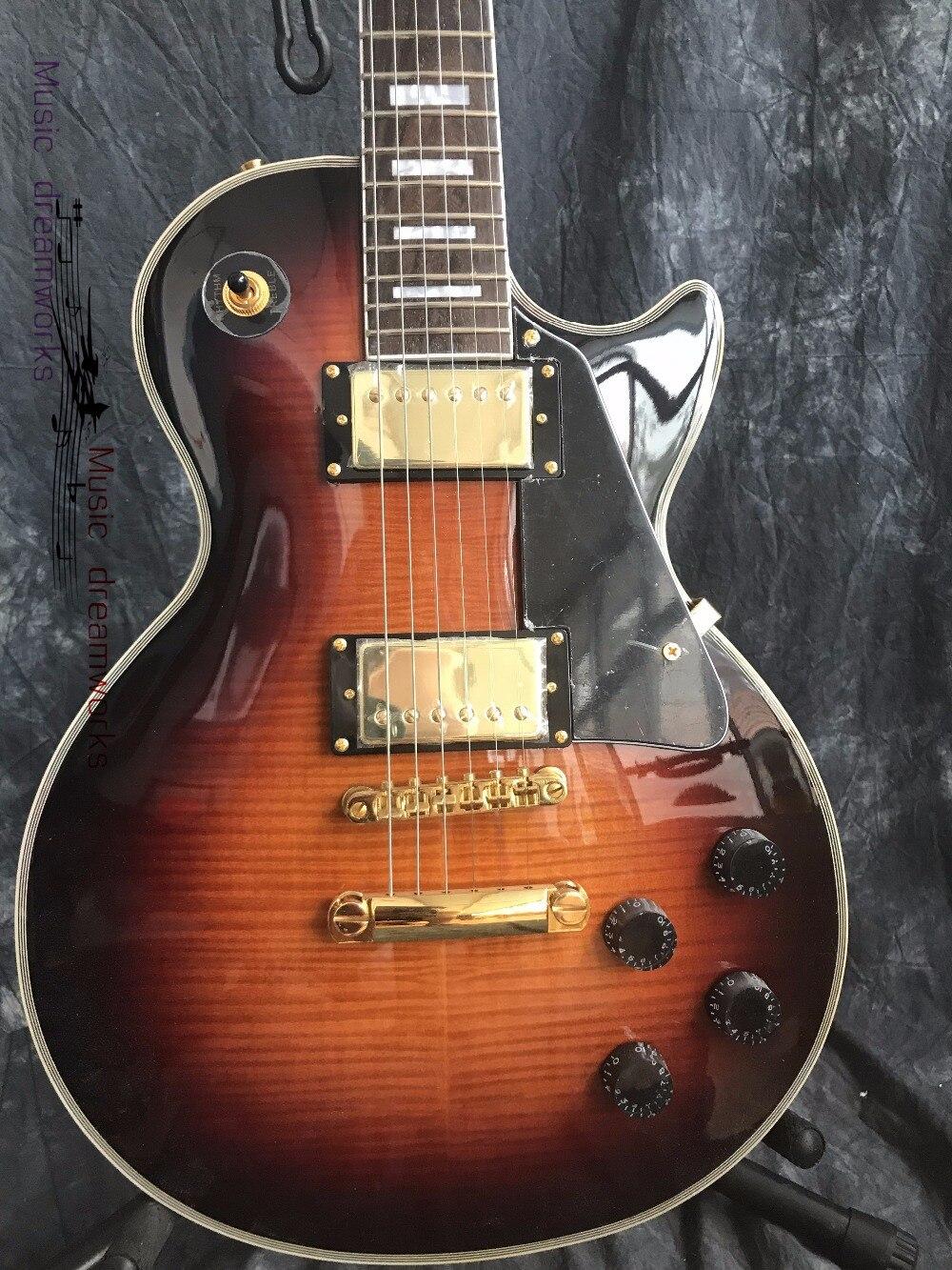 Chine guitare électrique firehawk OEM boutique en gros personnalisé G LP guitare électrique en stock