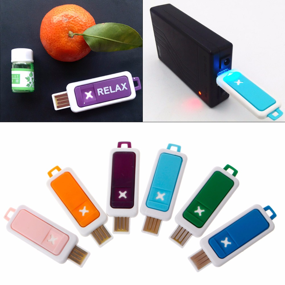 Portable Mini Essential Oil Diffuser Aroma USB Aromatherapy Humidifier Device Humidificador 6 Color in Humidifiers from Home Appliances