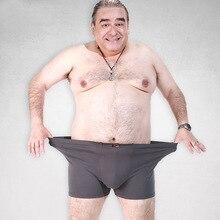 Fat Underwear Men Boxer Shorts Fashion Breathable Bamboo Fiber plumpness Boxers Homme Sexy Tide Camou Print Cueca male underwear