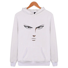 One Punch Man White Hoodie