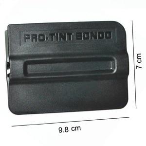 Image 4 - CNGZSY escurridor de plástico con imán Bondo, película magnética, rascador, salida de fábrica, envoltura de vinilo para coche, herramienta de instalación 5A19, 5 uds.