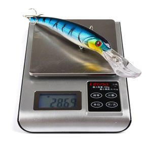 Image 4 - Offre spéciale 3 pièces appâts de pêche à leau de mer vairon appâts gros leurres durs 3D yeux mer matériel de pêche Wobblers Pesca Isca 165mm 28.7g
