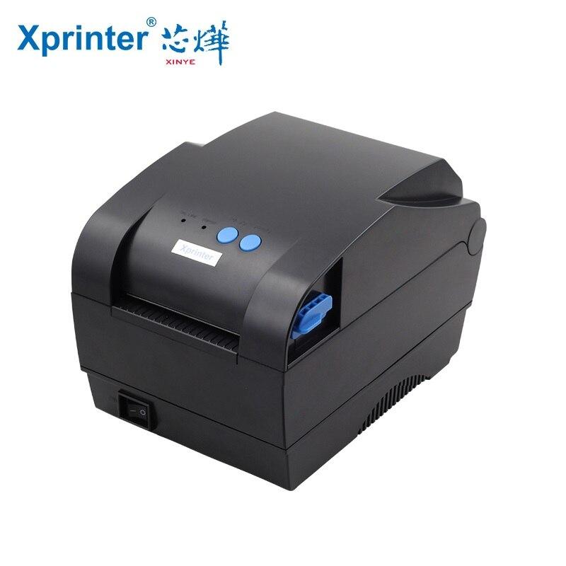 Imprimante code à barres Qr Code Étiquette de Code à Barres Imprimante Thermique Adhésif Étiquette Imprimante Petit Billet Réception