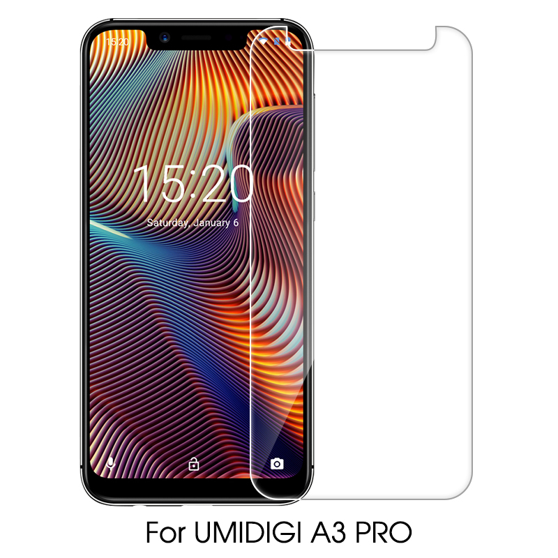 Casptm Ultra Thin Tempered Glass For Umidigi A3 A5 Pro One Pro Max S2 Pro Lite S3 Pro F1 Tough Screen Protector Protective Film