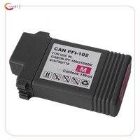 1Magenta Compatible Ink Cartridge PFI 102 Pfi 102 For Canon IPF500 510 IPF700 710 720 760