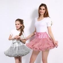 7714b907893d3 Bébé filles Tutu jupe moelleux enfants Ballet enfants pettijupes bébé fille jupes  princesse Tulle fête danse