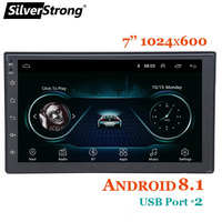 SilverStrong Faster Express Android8.1 Universal 7''car DVD gps navigation radio player stereo 2din radio car multimedia player