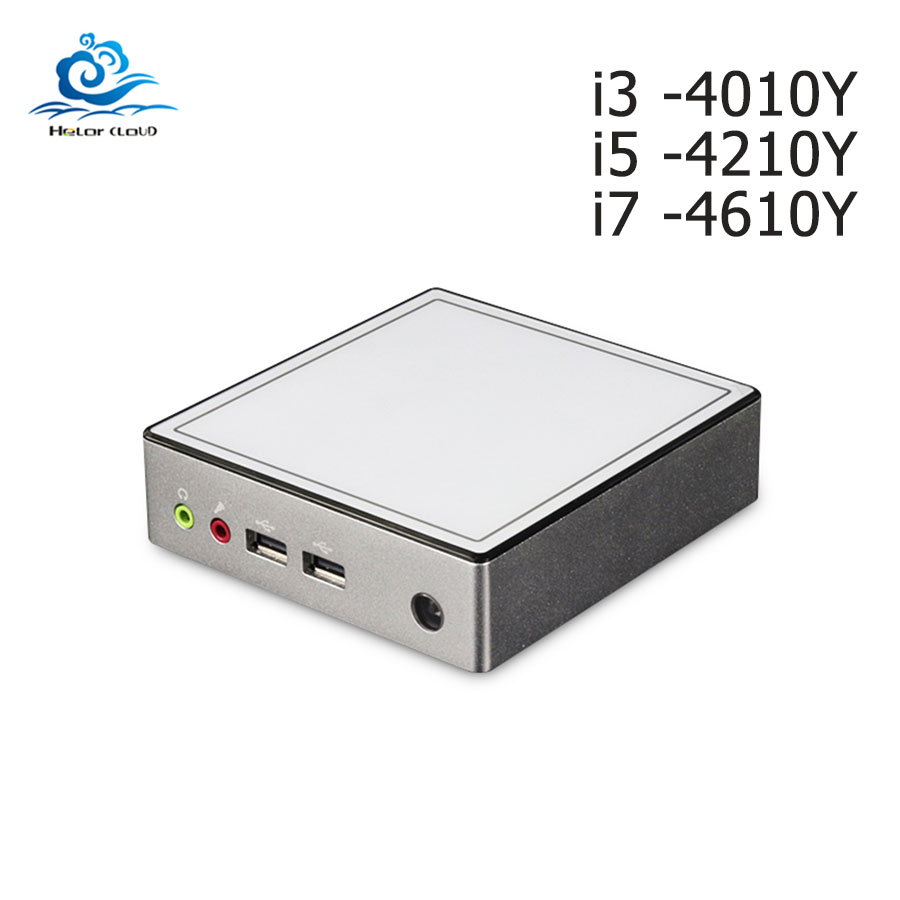 Mini PC Intel Celeron 2955U 1 40GHz Windows 10 Mini Computer i3 4010Y Cooling Fan Nuc