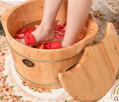 Bois seau bain de pieds promotion achetez des bois seau for Bain de pieds maison