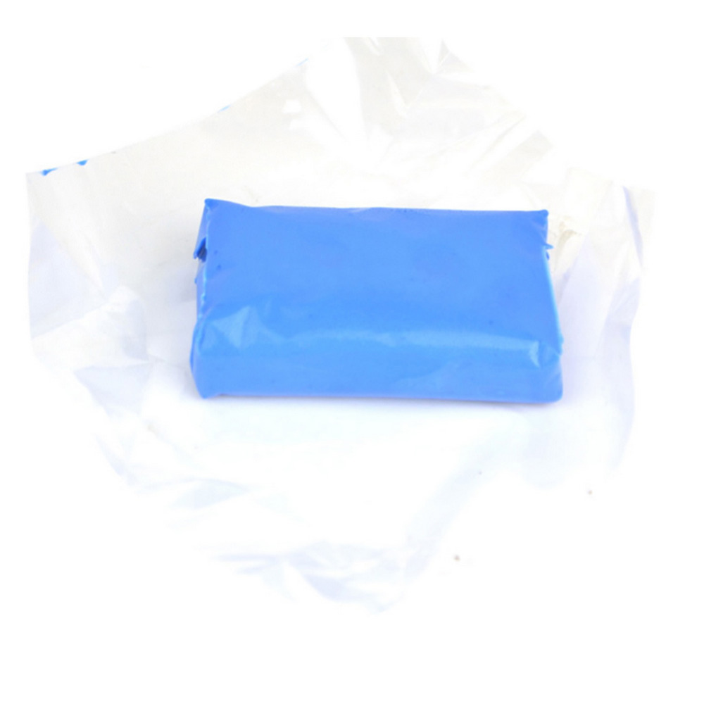 Automobiles Overspray, Rail dust, Brake dust, Pollution Magic Clay Bar Car Cleaning Remove Detailing Wash Cleaner Blue