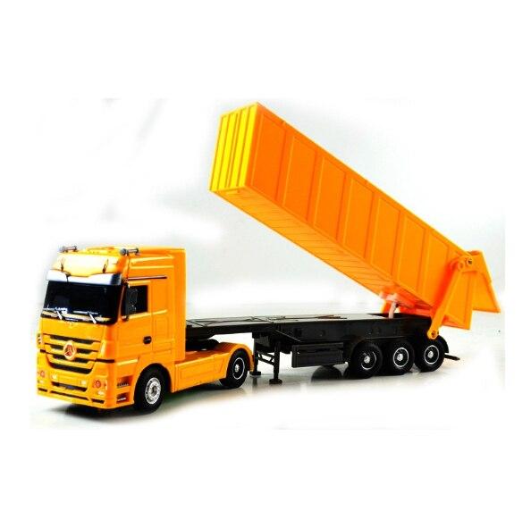 Detachable Kids Electric Big Rc truck Detachable Trailer Remote ...