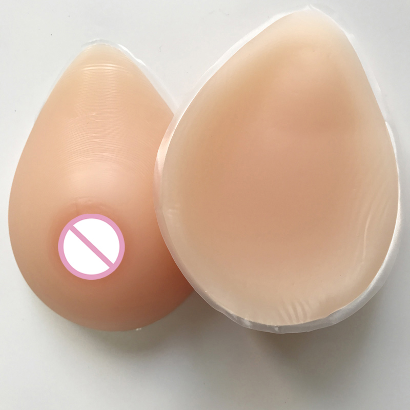 600g/pair (B cup) False breast boobs artificial breast forms for crossdresser Drag Queen bra+1 pair breasts special protection