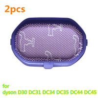 2pcs Vacuum Cleaner Parts HEPA Filter For Replacement Dyson D30 DC31 DC34 DC35 DC44 DC45