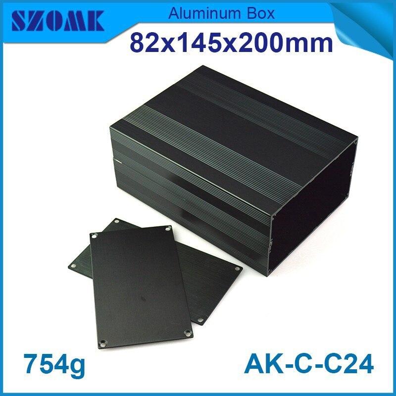 4 pcs/lot aluminum project enclosure aluminium box diy which git PCB size 76x140mm used to Audio components