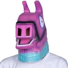 Latex GAMING Mask Llama Latex Mask