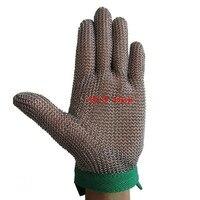 Chain Mail Glove Stainless Steel Glove Metal Mesh Glove XS S M L XL 5 Size