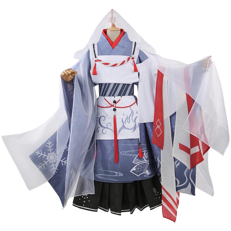 Горячее предложение! Платье маленького героя Todoroki Shoto, цветочное праздничное кимоно, вечерние платья на Хэллоуин, костюмы на Хэллоуин для же... - 2