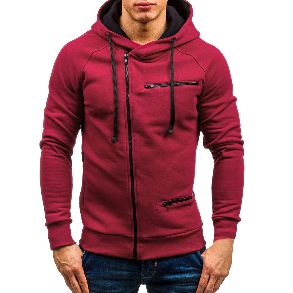 YOUYEDIAN men hoodies 2018 aut...