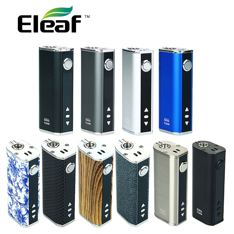 100% Original Eleaf iStick 40W 2600mAh Battery Electronic cigarette 40W istick Mod Battery match eleaf gs air 2 tank vape mod 100% eleaf istick 1a eleaf istick 20w 30w 50w istick istick wall adapter