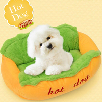 Hot Dog Bed Pets Products for Puppies Pet Bed for Animals Dog Beds for large Dogs Cat House Dog Bed Mat Cat Sofa Supplies