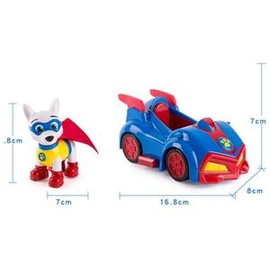 Image 3 - Игрушечный автомобиль «Щенячий патруль», аниме фигура аниме из ПВХ, игрушка для детей, подарок