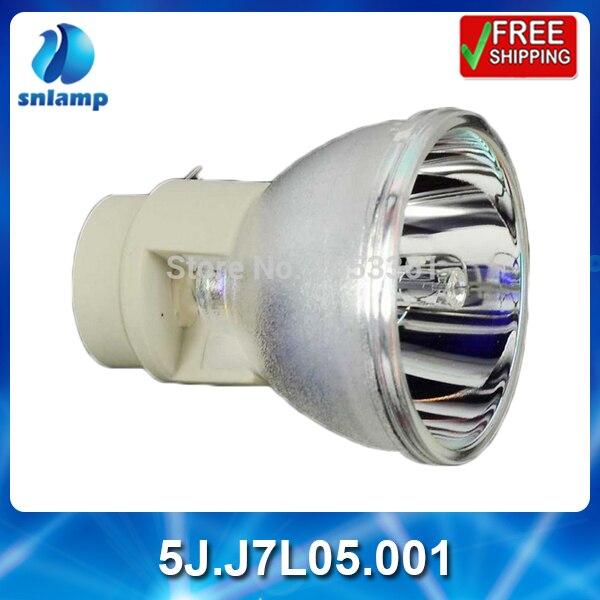 100% projecteur original lampe nue 5J. J7L05.001 pour W1080 W1070