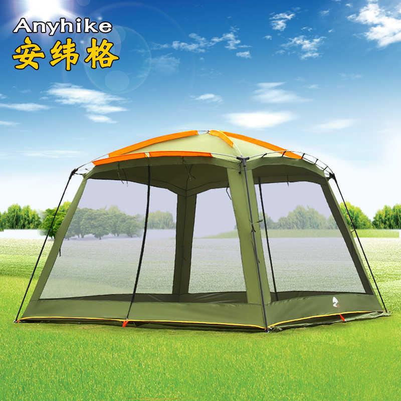 جديد مساحة كبيرة عالية الجودة واقية من الشمس مكافحة البعوض مقاوم للمطر عاصف في الهواء الطلق التخييم خيمة متعددة الوظائف الشمس المأوى Carpas