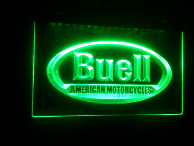 Man Cave Led Sign : B buell beer bar pub club d signs led neon sign vintage home