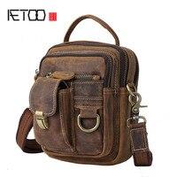 AETOO Avrupa ve Amerika Birleşik Devletleri satış multi-fonksiyonel mad at büyük kapasiteli omuz çantası el bagaj çantası erkekler M