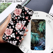 For Lenovo K320t Case cover cute cartoon painted Soft Phone Cases For Lenovo K320 t case back cover K 320t case shell 5.7inch