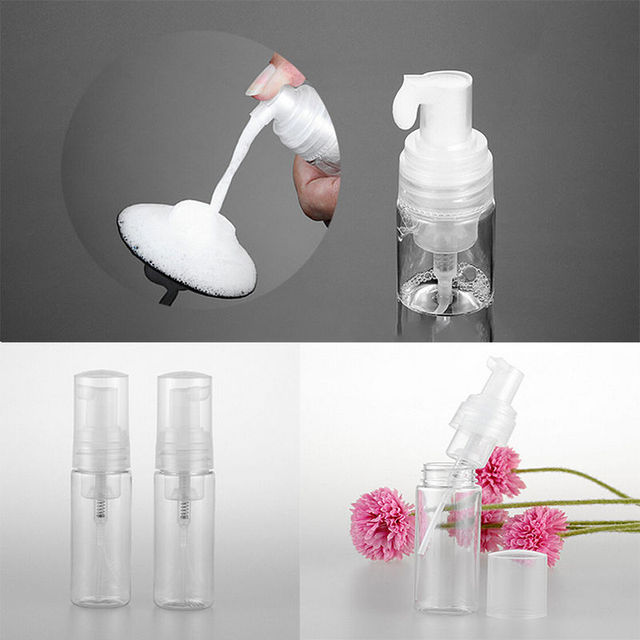 Plastic Travel Transparent Refill Perfume Atomizer Shampoo Empty Small Spray Bottle frasco de perfume