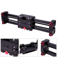 16″/40cm Aluminum Camera Video Track Dolly Rail System Stabilizer Balance Quick Rail System for Canon Nikon Sony DSLRs Camcorder