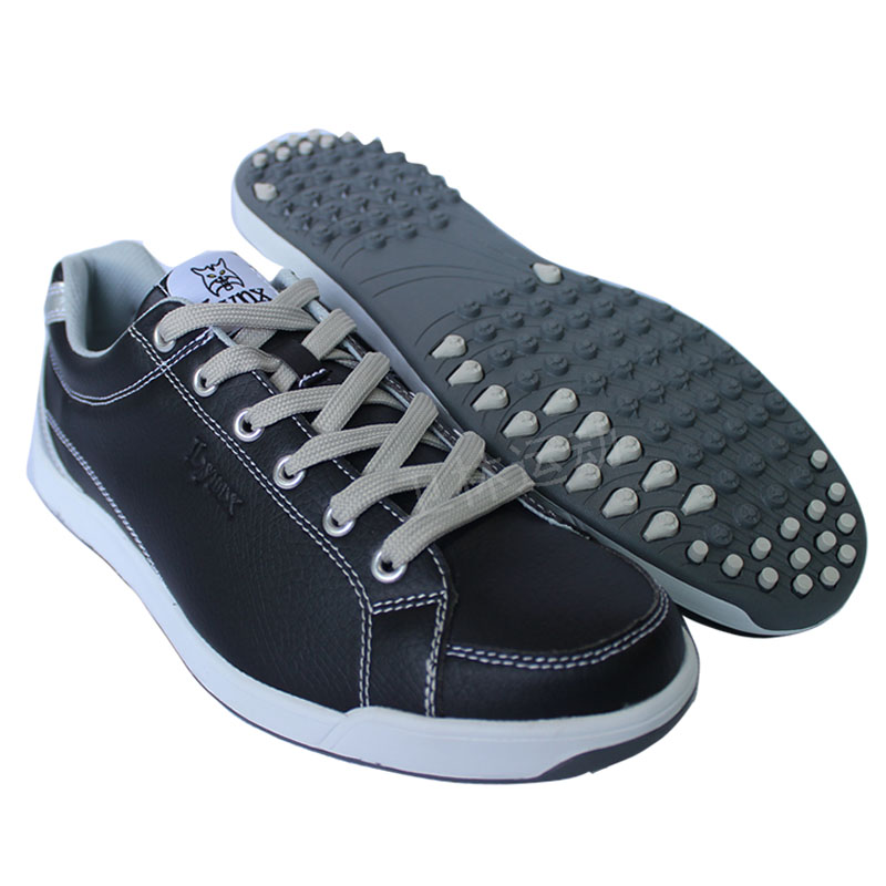 Men Lynx brand outdoor Golf shoes male waterproof anti-slip shock absorption sports shoes men mirofiber leather athletic shoes autumn golf shoes women s breathable single shoes ultra light slip resistant waterproof shock absorption sports light golf shoes